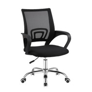 Artiss Office Chair Gaming Chair Computer Mesh Chairs Executive Mid Back Black MB
