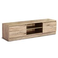 Artiss 160CM TV Stand Entertainment Unit Lowline Storage Cabinet Wooden