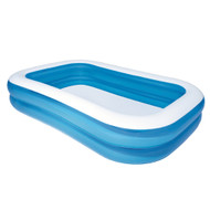 Bestway Inflatable Kids Above Ground Swimming Pool 2.62x1.75m