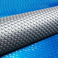 Aquabuddy 10.5M X 4.2M Solar Swimming Pool Cover - Blue