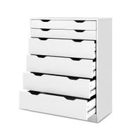 Artiss 6 Chest of Drawers Tallboy Cabinet Storage Dresser Table Bedroom Storage