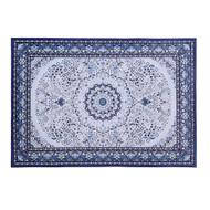 Artiss Short Pile Floor Rug 160x230cm Gaspar Blue