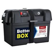 GIANTZ Battery Box 12V Camping Portable Deep Cycle AGM Universal Large USB Cig