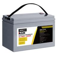 Giantz 100Ah Deep Cycle Battery 12V AGM Marine Sealed Power Portable Box Solar Caravan Camping
