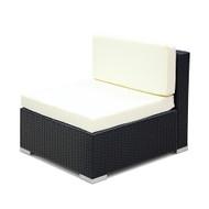 Gardeon 2PC Outdoor Furniture Sofa Set Wicker Rattan Garden Lounge Chair Setting