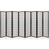 Artiss 8 Panel Room Divider Privacy Screen Dividers Stand Oriental Vintage Black