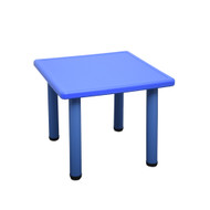 Kids Toddler Children Square Playing Activity Party Table Blue Small