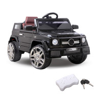 Kids Ride On Car SUV - Black