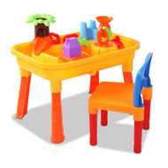 Keezi Kids Table & Chair Sandpit Set