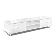 160cm Adjustable High Gloss TV Unit