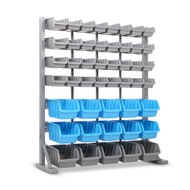47 Bin Storage Shelving Rack