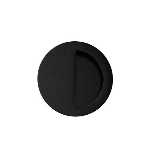 black flush handle 70mm top