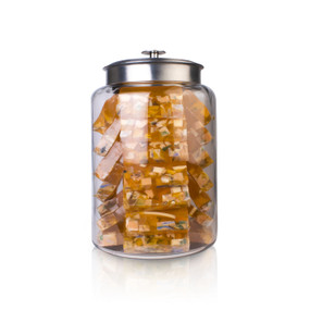 Orange Ginger Soap Jar
