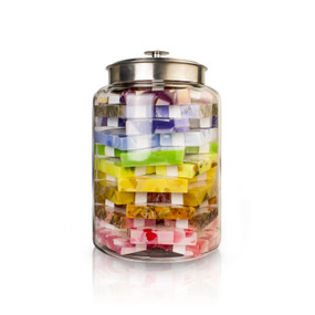 BUILD YOUR OWN SOAP JAR: Rainbow Soap Jar