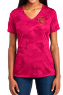 STM Adult Camohex Shirt Pink