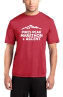 Pikes Peak Unisex Tech Tee - Red