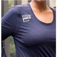 YWCA Women's Tri Bae Long-Sleeve Tee