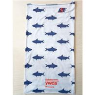 YWCA Women's Tri Shark-print Running Buff