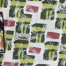 African print fabric by Woodin.