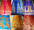 Aso Ebi / Uniform - Royal Big Embroidery Silk George