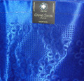 Grand Swiss Headtie  - Royal Blue