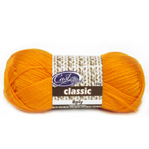 Cast On Classic 8ply Saffron - 10 pack