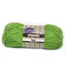 Cast On Classic 8ply Granny Smith - 10 pack