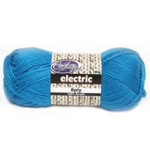Cast On Electric 8ply Blue - 10 pack
