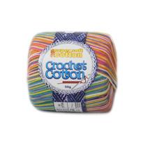 Crochet Cotton Multicolour Sprinkles - 50g - Pack of 10