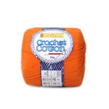 Crochet Cotton Tangerine 50g - Pack of 10