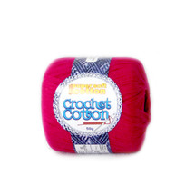 Crochet Cotton Fuschia 50g - 10 Pack