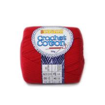 Crochet Cotton Rouge 50g - 10 Pack