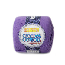 Crochet Cotton Jacaranda 50g - 10 Pack