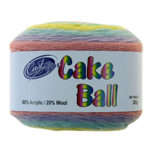 CAKE YARN 200G UNICORN SPRINKLES