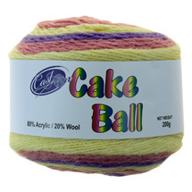 CAKE YARN 200G FAIRY FLOSS