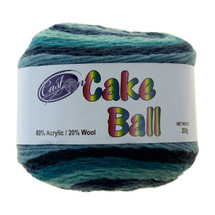 CAKE YARN 200G BERRY BLUE