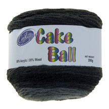 CAKE YARN 200G LICORICE