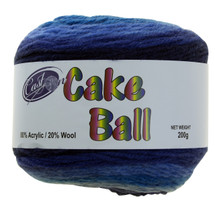 CAKE YARN 200G BLUE HEAVEN