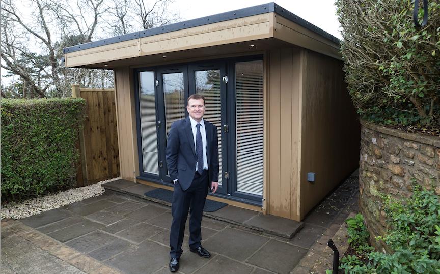 garden office bristol, garden office, garden room, insulated garden office, insulated garden room