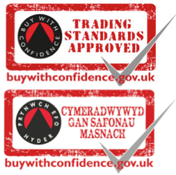 buy with confidence, trading standards approved