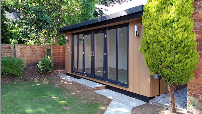 canopy style garden room manchester