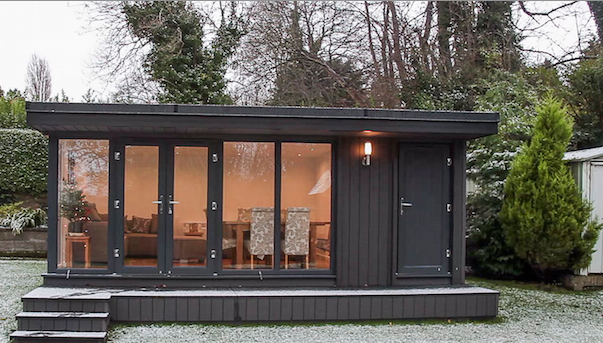 garden rooms with internal walls, partition walls for garden rooms, garden rooms with a store room, garden rooms with storage