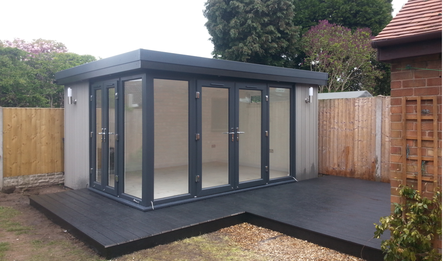 garden rooms chester, garden offices chester