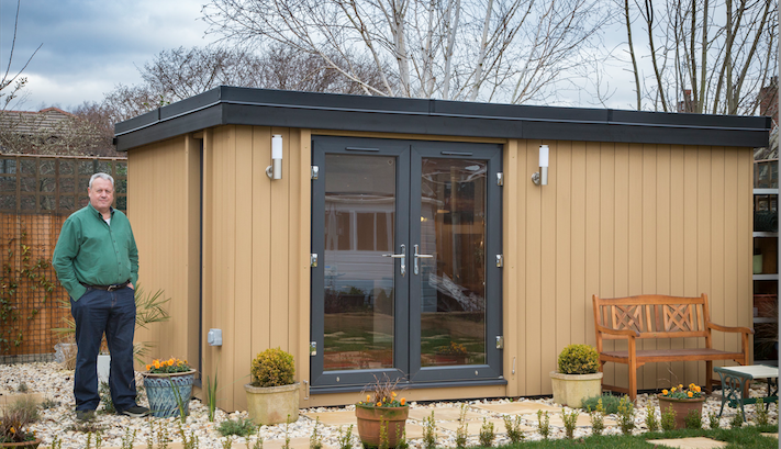 garden office gresford, garden office wrexham, garden office north wales