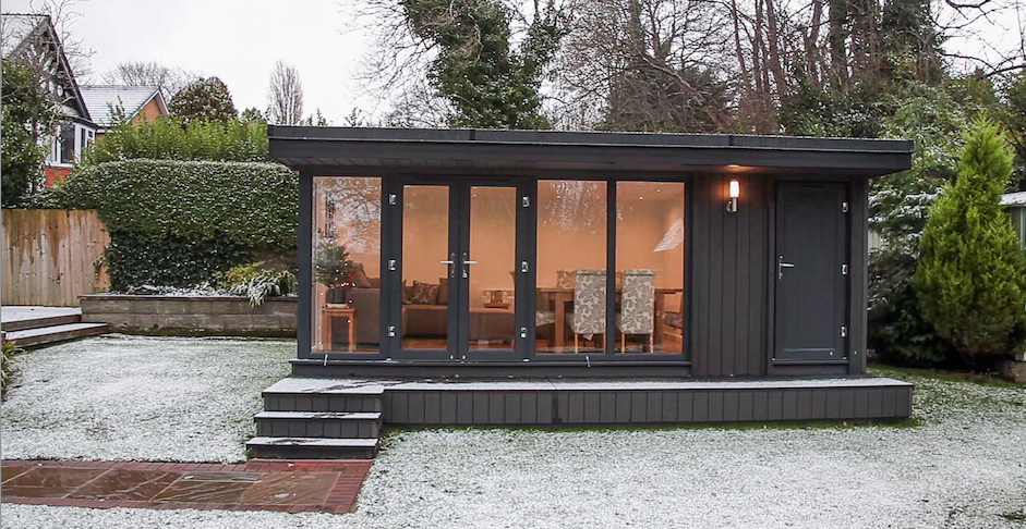 garden office birkenhead, garden office wirral