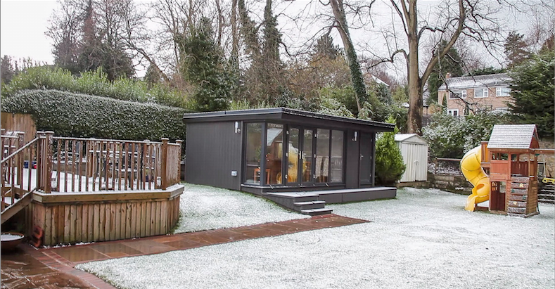 garden office in birkenhead, wirral