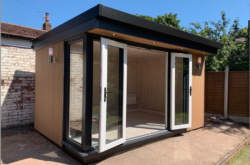 garden office wirral cheshire