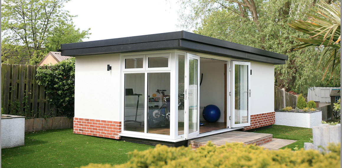 garden room for cycle training
