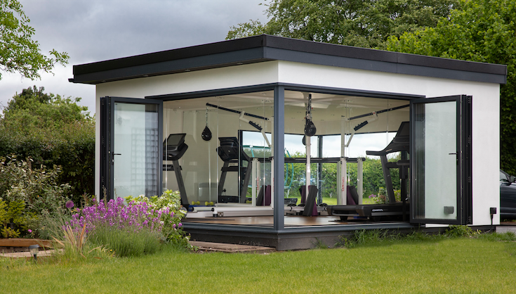 garden room gym, frodsham