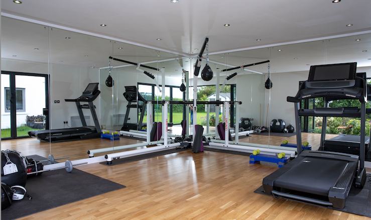 garden room gym, Stockport